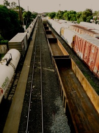 switching tracks, San Luis Potosí, San Luis Potosí