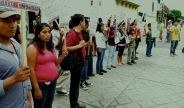 protesters are unenthusiastic about impunity in Oaxaca, Oaxaca