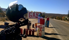 thanks to small-time entrepreneurs in the middle of the desert I didn't get stranded. Baja California