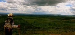 20 years holding the same stick and taking in the same view, La Quemada, Zacatecas