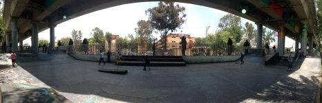 JFK skatepark, Mexico City