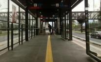 lonely post, UNAM, Mexico City