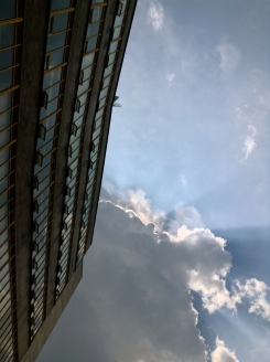 upward windows, UNAM, Mexico city