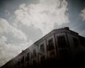 scratched pane view, Querétaro, Querétaro