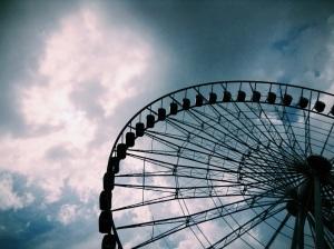 wheel of fortune (rueda de fortuna). Puebla, Puebla