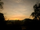 nostalgic sunset. Atlixco, Puebla