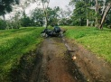 sometimes roads can be slippery, Lago Arenal, Costa Rica