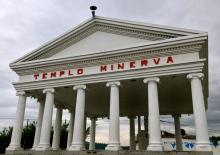one of the many minerva temples of Guatemala, Huehuetenango