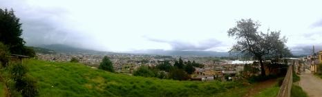 stretchy city, Quetzaltenango, Guatemala
