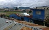 tin rooftops of Quetzaltenango, Guatemala