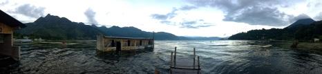 flooded town, Lago Atitlan, Guatemala
