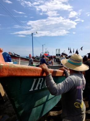 sea affairing, Puerto Libertad, El Salvador