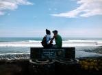 throw your trash here, Puerto Libertad, El Salvador