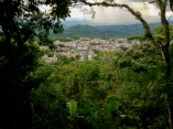 human dwelling in the midst of an expansive jungle, Cojutepeque, El Salvador