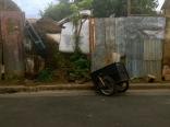 shocked cart, León, Nicaragua