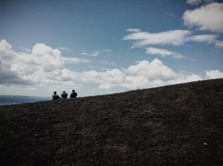 volcano hang out sesh, Nicaragua