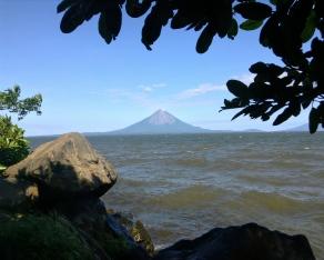 i spy a volcaner, Lago Nicaragua, Nicaragua