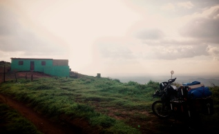 I met some old French guy on a bike like mine heading the same way so we decided to ride together. 20 minutes in I pulled over to tell him I wanted to stop to check out this dirt road. He wanted to keep going so that was the end of having a travel partner, Nicaragua