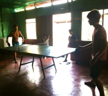 this table and these friends; my saviors for three months, Mata Palo, Costa Rica