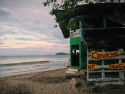 ceviche cigars. WtF? Playa Brasilito, Costa Rica