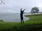 buenos días fog lake, Lago Arenal, Costa Rica
