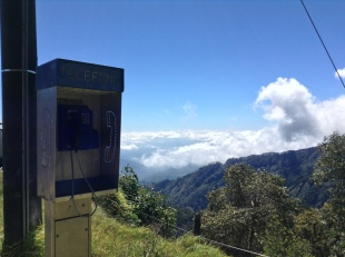 phone call to the heavens, Costa Rica