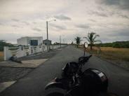 a lonely suburban street full of empty modern homes, La Barqueta, Panamá
