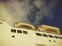 by air and sea, Colon, Panamá