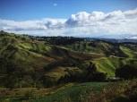 earth creases, Costa Rica