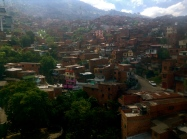 The colorful hillside dwellings of Medellín
