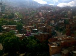 The colorful hillside dwellings of Medellín