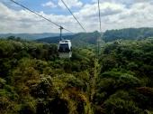 Floating over forests, Medellín