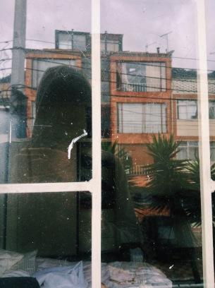 Self portrait, Bogotá