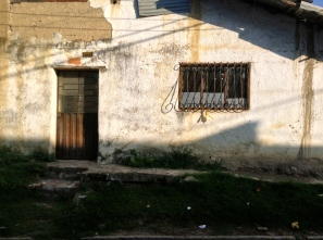A humble village home in the early morning light, San Francisco, Cundinamarca