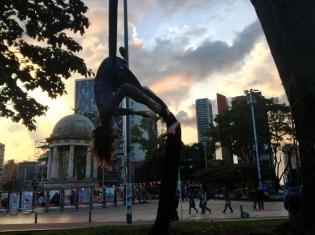 Hangin' around Bogotá