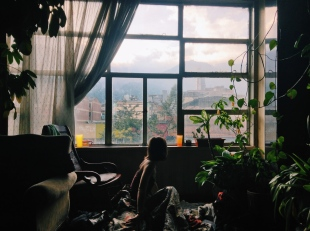 Waking up to a new little world. Bogotá