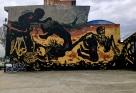 The underworld bringing life to the upper world, Bogotá
