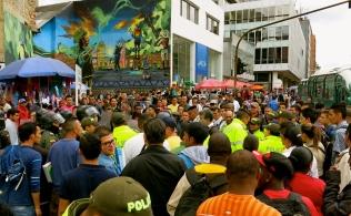 General bogatanian commotion, Bogotá