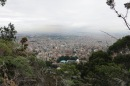 Early morning hike overlooking Bogotá