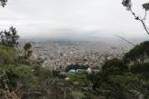 Early morning hike overlooking Bogotá