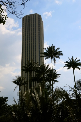 Colombian patriotism and culture manifested into a single all-knowing and all-powerful tower, Bogotá