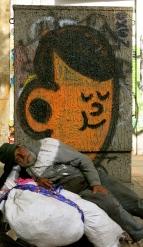 A satisfying siesta en la septima, Bogotá