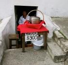 Steep visit to the empanada doctor, Bogotá