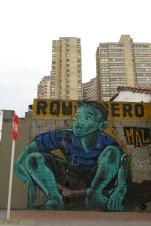 Roquero malo, Bogotá