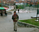 Giving a gift can be quiet nerve-racking, I feel anxious for him, Bogotá