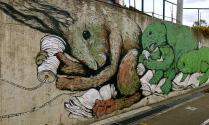 Sage salamander, telephoning turtle, hearful hare. Bogotá