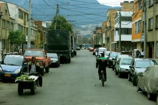 Angry avocado man, Bogotá