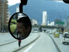 A bogotano busdriver reflects, Bogotá