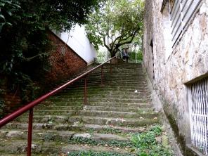 I'll make the climb with you... Bogotá