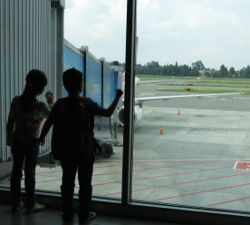 Nothing like looking out of the window at an airport... Bogotá